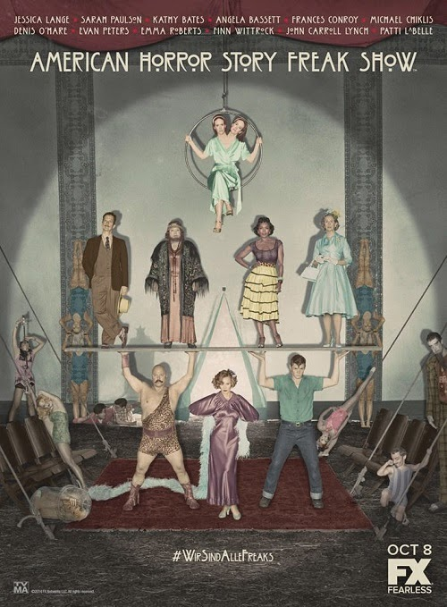 American Horror Story Freak Show Poster Image Picture Wallpaper Screensaver Cast and Crew