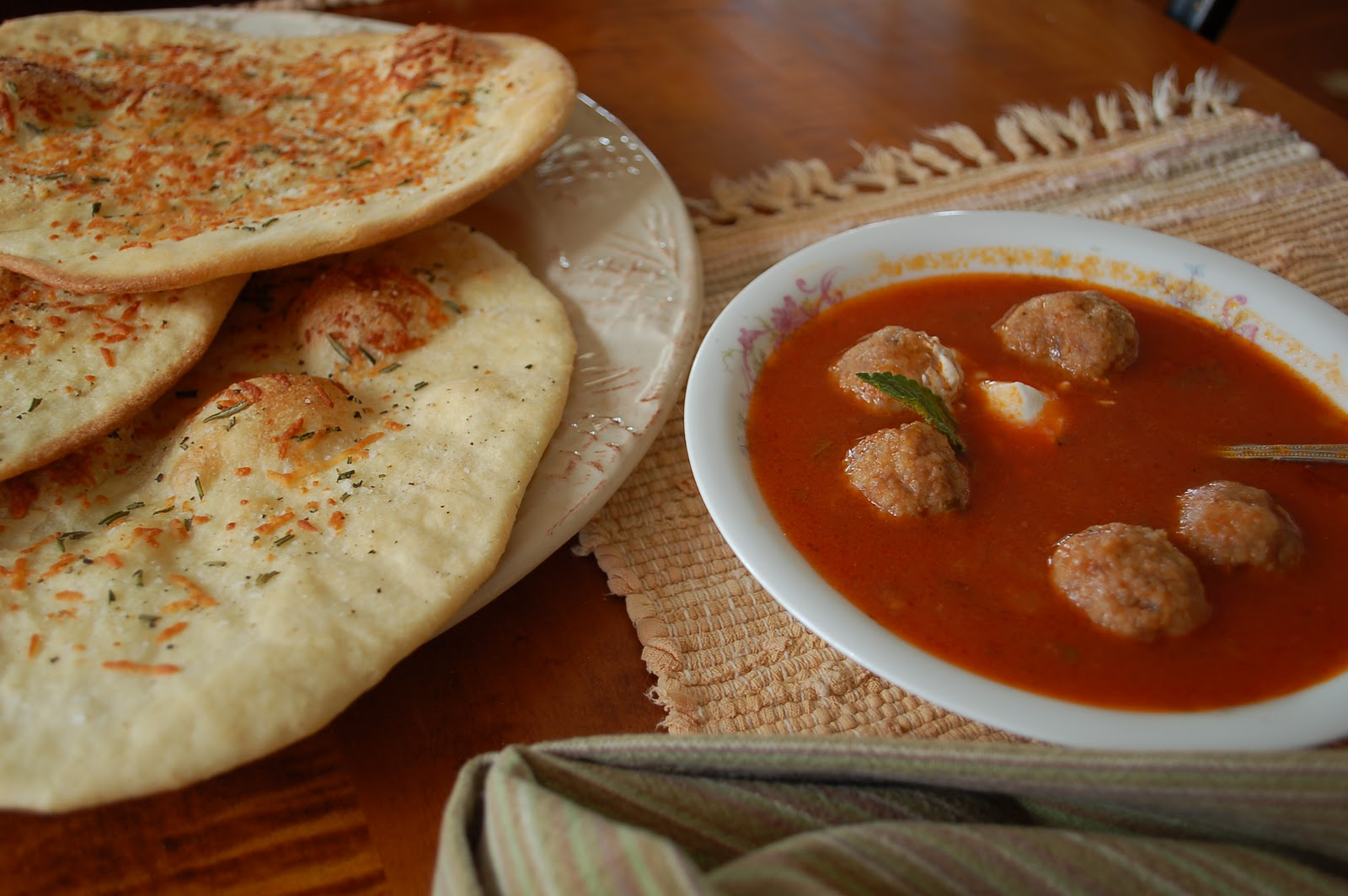 The spice garden your recipe my kitchen victorias armenian your recipe my kitchen victorias armenian meatball soup forumfinder Images