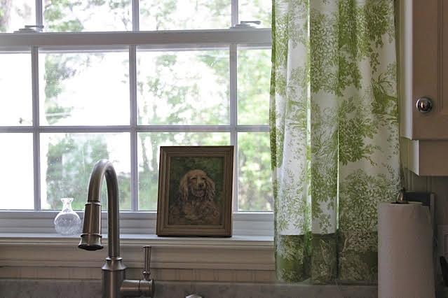 Toile Curtains From Sheets And An Amazing Decorating Book!