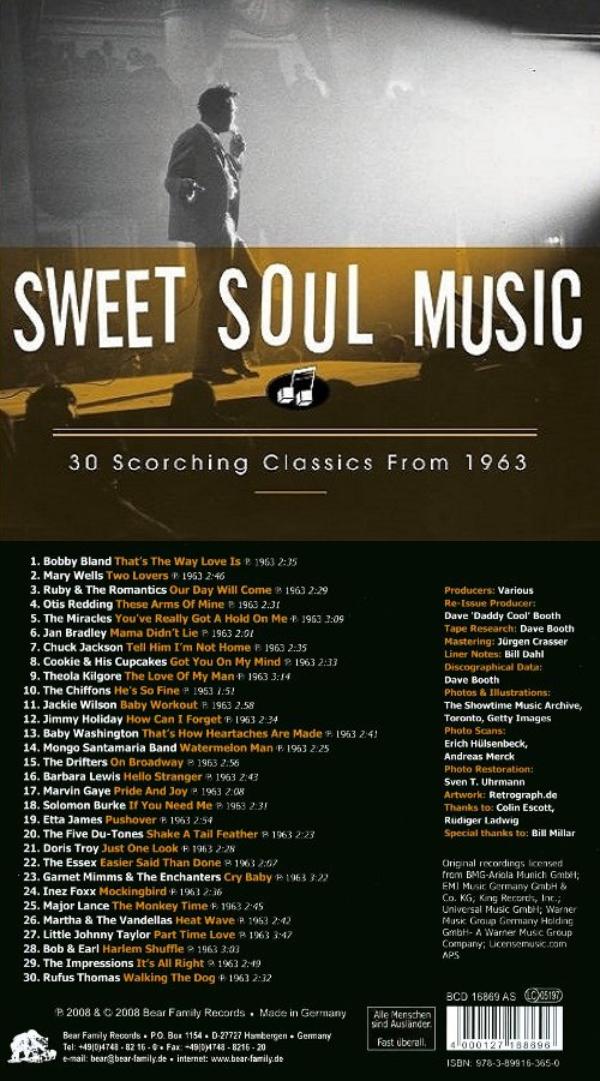 The Hideaway: Bear Family's SWEET SOUL MUSIC 1961-1965 (2008)