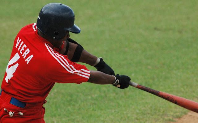 El guanabacoense Yasmani Viera conectó su segundo vuelacercas de la justa.