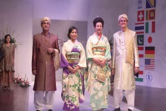 The 4th annual Diplomats Fashion Show.