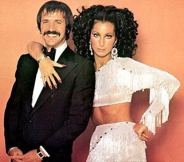 Sonny & Cher photoshoot for their television show