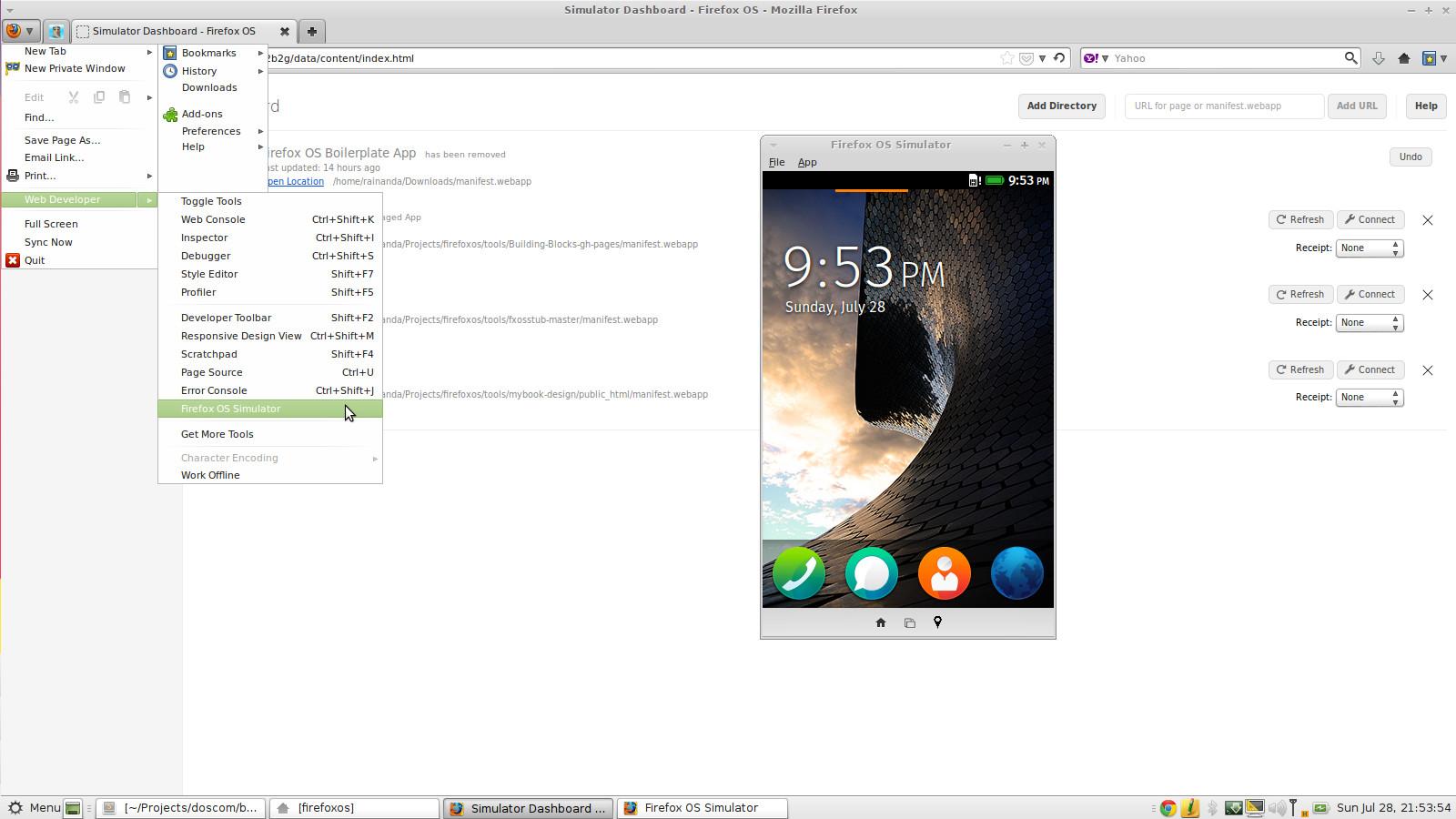 Membuat Aplikasi FirefoxOS