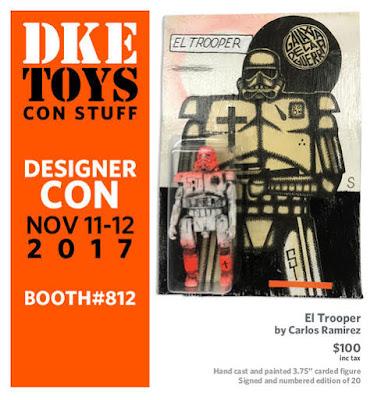 Designer Con 2017 Exclusive Star Wars El Trooper Resin Figure by Carlos Ramirez x DKE Toys
