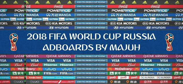 FIFA World Cup Russia Adboards Update PES 2018