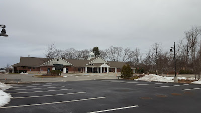 expanded parking lot at the Senior Center will accommodate more  parking when the 2nd floor and renovations are complete