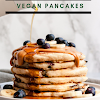Outrageously Fluffy Vegan Pancakes