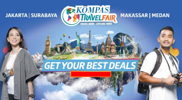 Kompas Travel Fair 2018 For Your Tourist Destination is Come Back! September 2018
