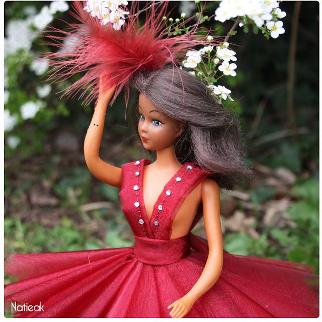 tuto robe de cérémonie  pour dolls