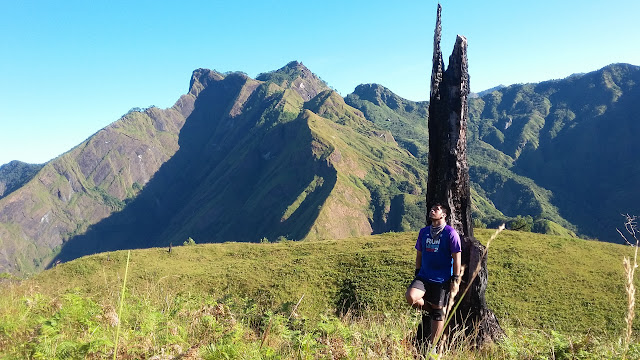 Mt. Tenglawan at the background