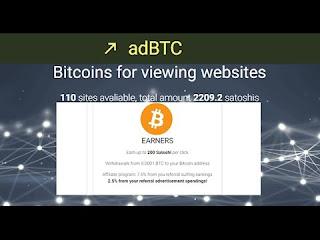 موقع adBTC لربح أكثر من 2000 ساتوشي في اليوم