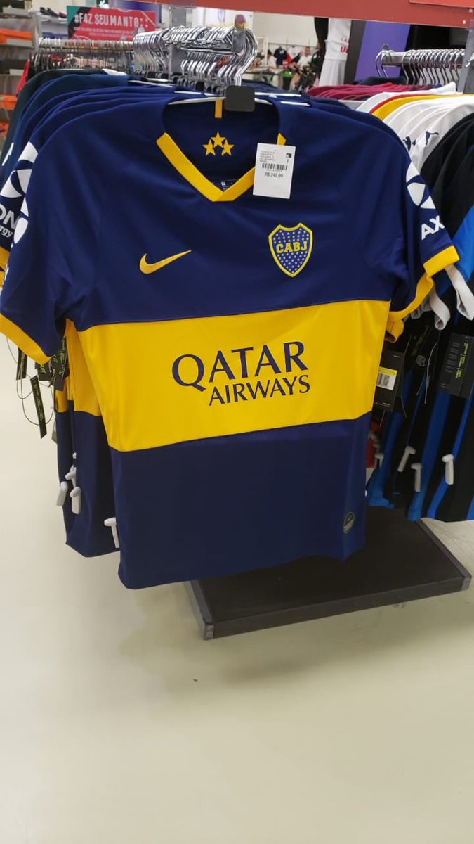 7857f5b0f7e ... accurate prediction of the Boca Juniors 2019-2020 home kit, which Nike  is set to launch in July next year. Qatar Airways continues as principal  sponsor ...