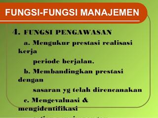 Fungsi dan Tugas-Tugas Manajemen
