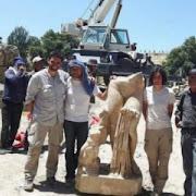 В Йорданії виявлено частину статуї Афродіти