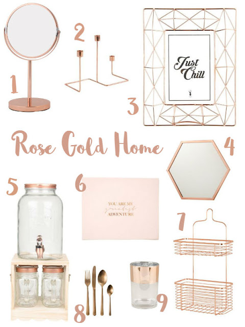 Rose Gold Home || Jane Wonder