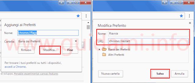 Chrome PC creare preferito per Riavviare il browser