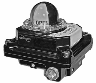 Industrial valve rotary switch and position indicator