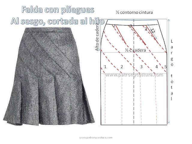 www.patronycostura.com/falda-con-pliegues-al-sesgo.html