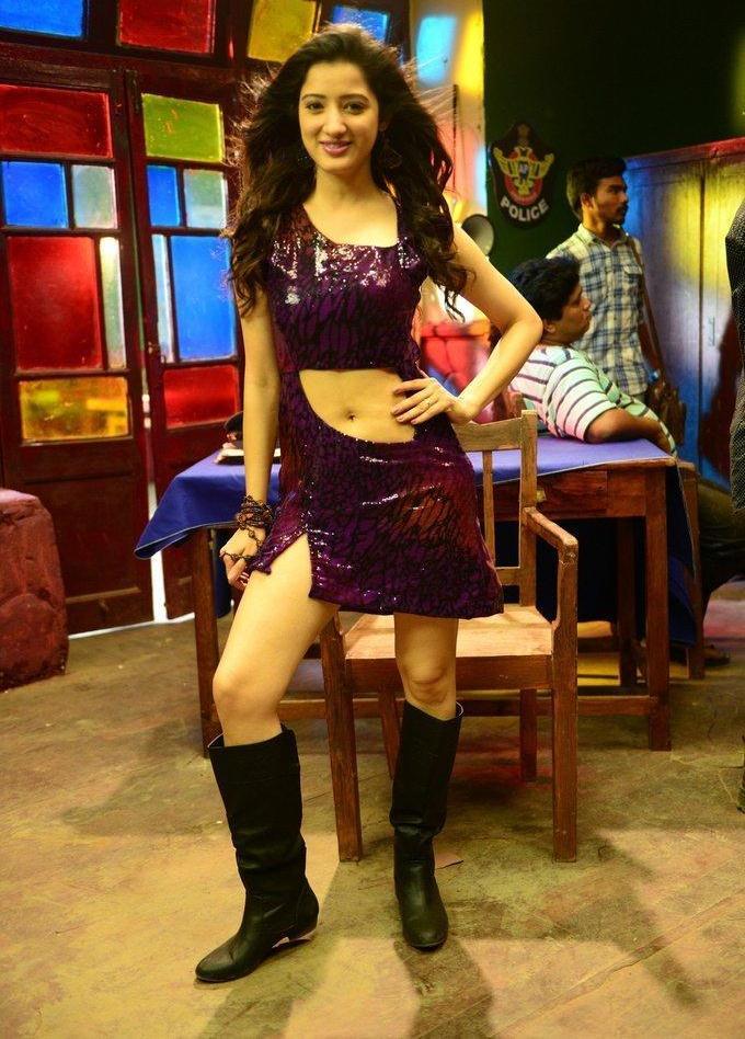 Telugu Model Richa Panai Hot Hip Navel Show Pictures