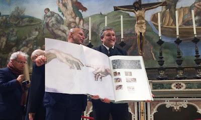 Για πρώτη φορά τόσο λεπτομερής καταγραφή της Καπέλα Σιξτίνα σε ένα πρότζεκτ 270.000 φωτογραφιών