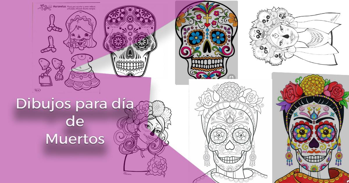 20 Padrsimos Mandalas De Da De Muertos Para Imprimir Y Colorear