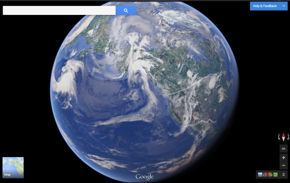 The New Google Maps Now Available - Google maps globe