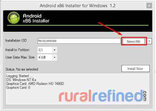 cara install android id pc