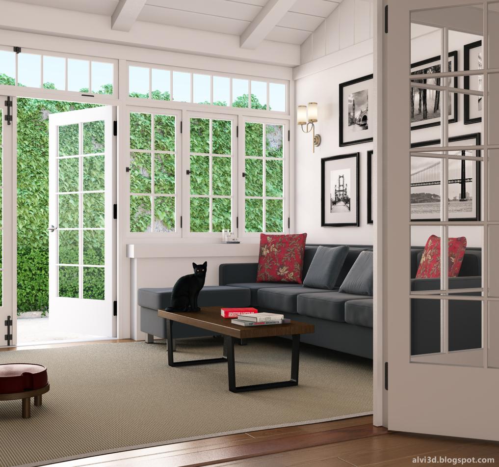 Octubre 2012 alvi jimgo dise o 3d en zaragoza for Sala de estar antigua