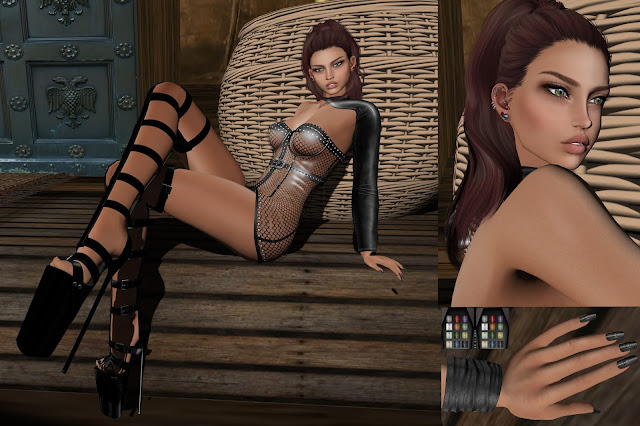 .:Eclipse Art Studio, Dafnis Clothes ,Dark Passions - Koffin Nails, Tres Chic, Genre Event.