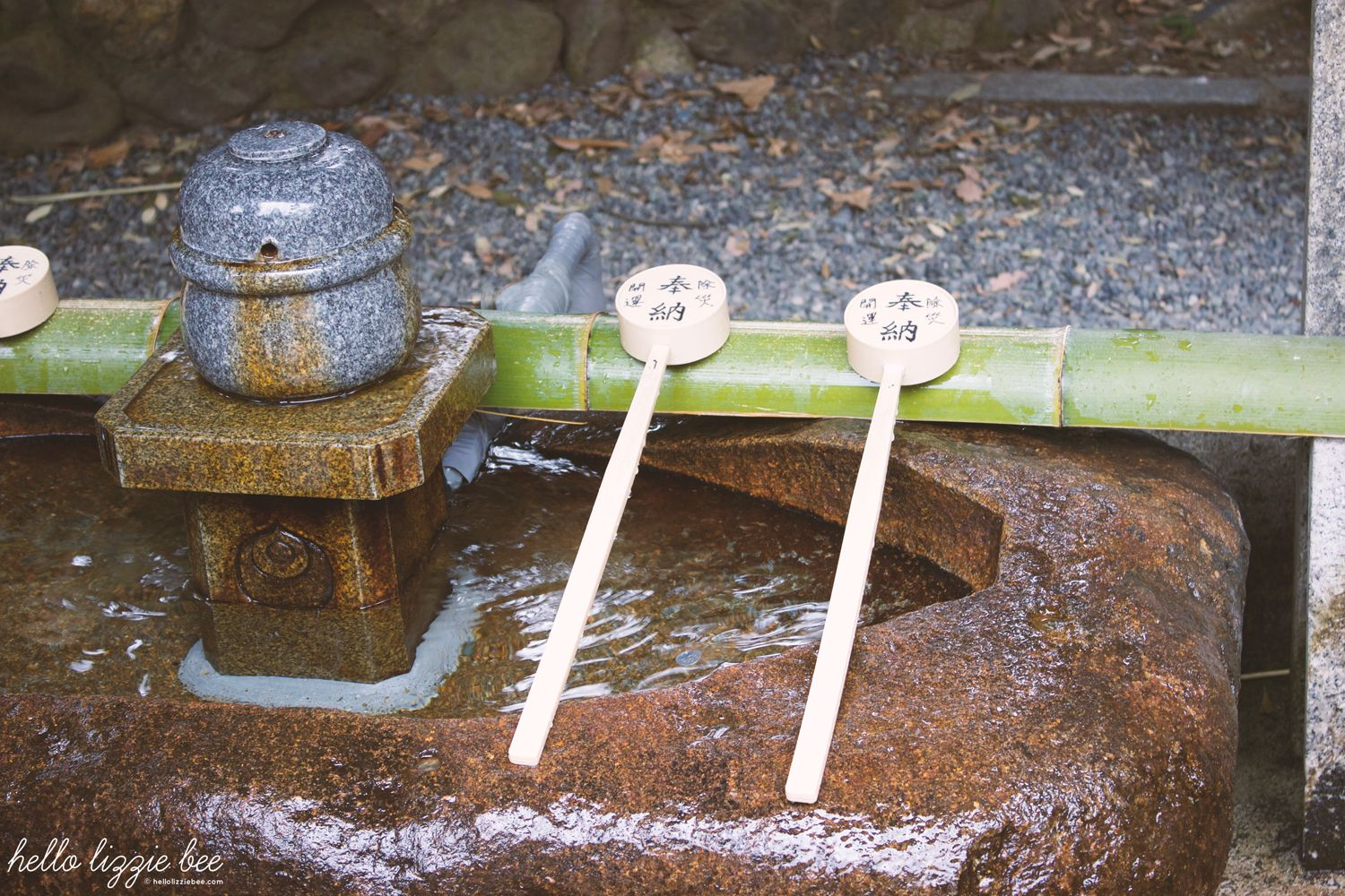 small purification fountain