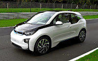 Image result for white bmw i3