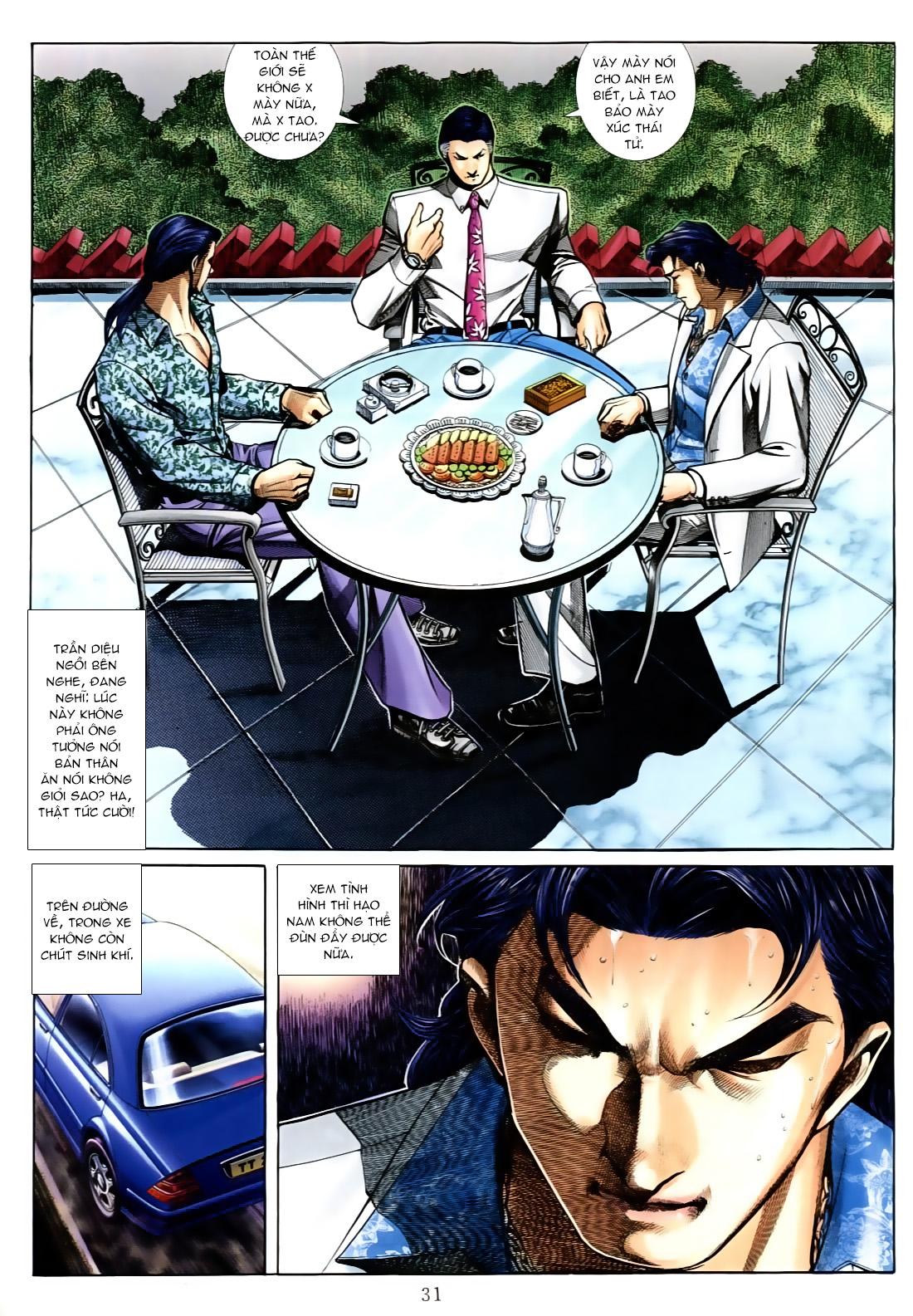 Người Trong Giang Hồ chapter 556: làm khó nam đẹp trai trang 23