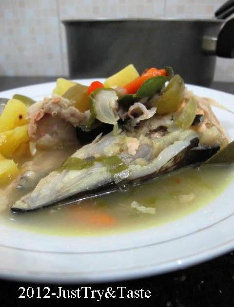 Resep Sup Pedas Kepala Salmon Bagian Terlezat Salmon Ada Di Kepalanya Just Try Taste