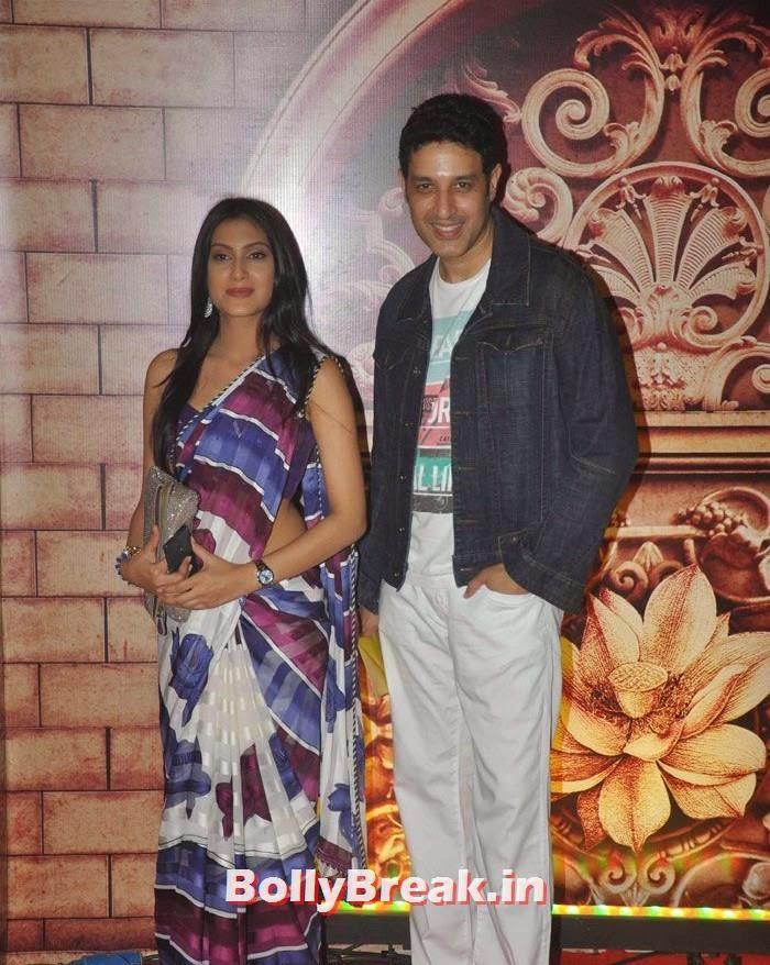 Rina Agrawal, Khalid Siddiqui, Zee Rishtey Awards 2014 Photo Gallery
