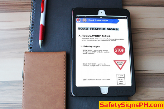 Road Traffic Signs Ebook