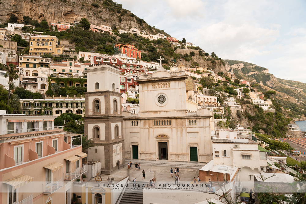 View of Positano church