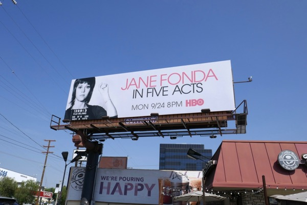 Jane Fonda In Five Acts billboard