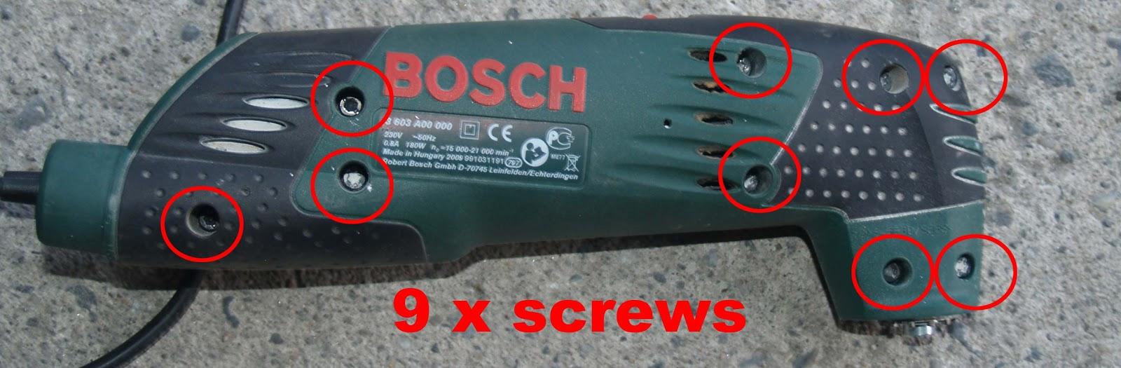 Spiksplinternieuw JB Service: Bosch PMF 180e and PMF 190e multi tool, 230VAC HY-58