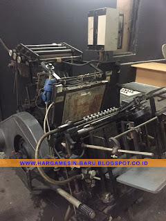 Mesin Hotprint Heidelberg KIPAS GTP