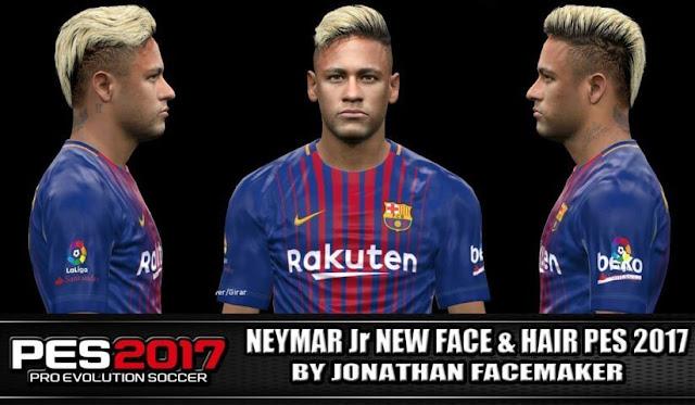 Neymar New Face PES 2017