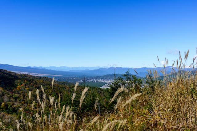 平尾山山頂からの景色