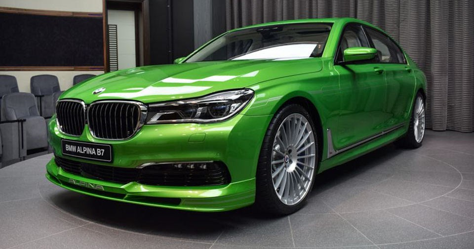 Java Green Alpina B7 Isn T For The Faint Hearted