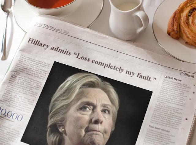 stilton's place, stilton, political, humor, conservative, cartoons, jokes, hope n' change, April Fool, 2018, Hillary, Trump, Hogg