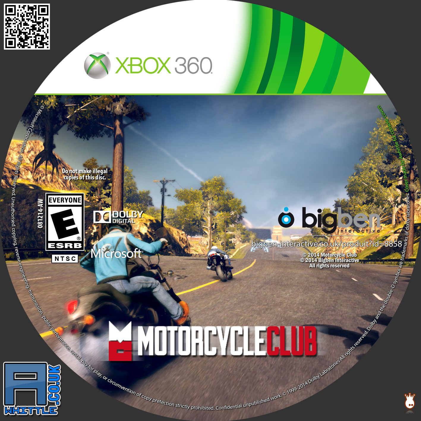 Label Motorcycle Club Xbox 360