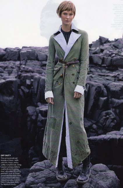 Greg Lauren coat, Vogue November 2015