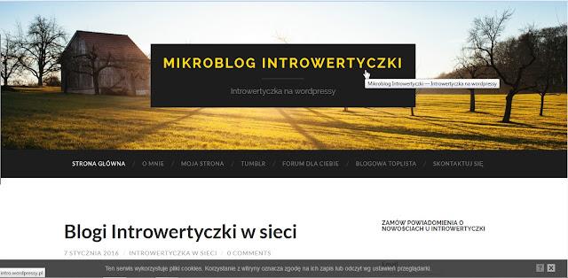 Wordpressy - mikroblog