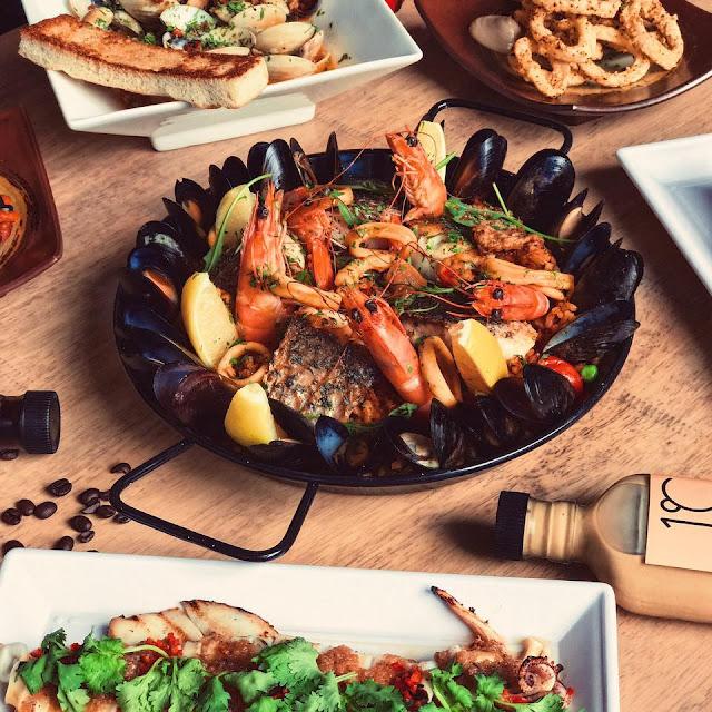 Seafood Paellas