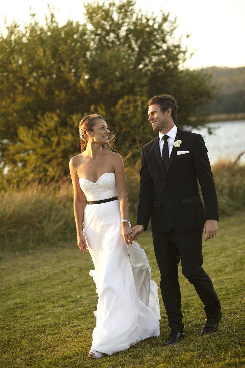 Romantic Wedding in a Lavender Field