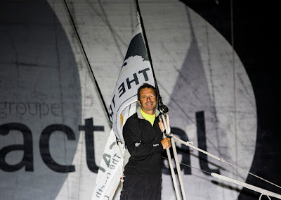 Yves Le Blevec, 3e de The Transat avec Actual